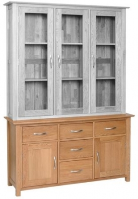 Devonshire New Oak Dresser Base - Large