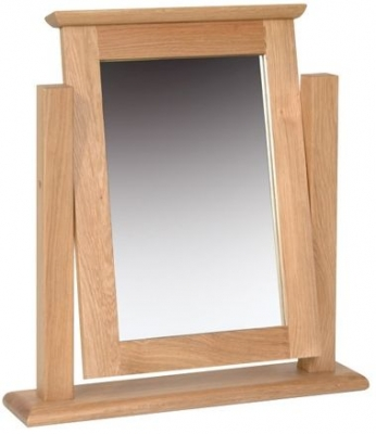 Devonshire New Oak Dressing Table - Single Mirror