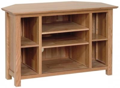 Devonshire New Oak TV Cabinet - Corner