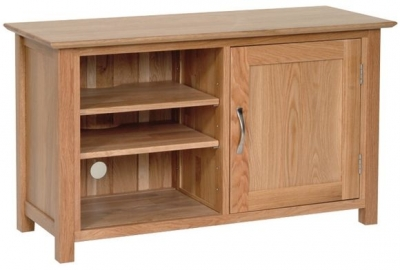 Devonshire New Oak TV Cabinet - Standard