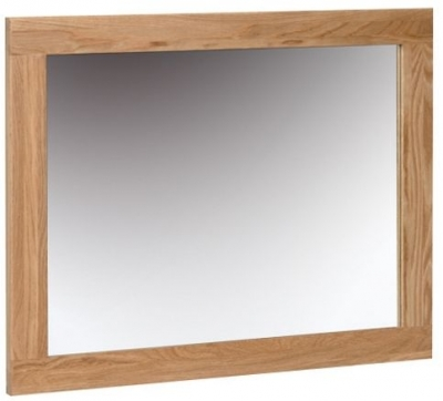 Devonshire New Oak Rectangular Wall Mirror - 59.7cm x 75cm