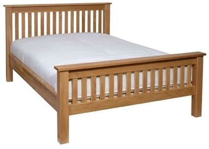 Devonshire New Oak 4ft 6in Double Bed