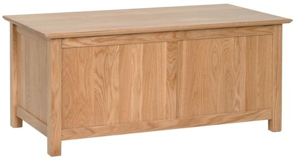 Devonshire New Oak Blanket Box