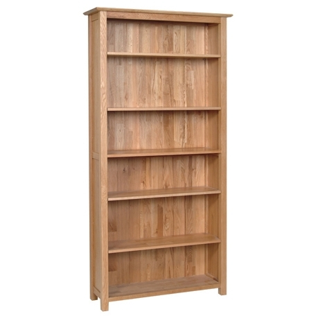 Devonshire New Oak Bookcase - Tall