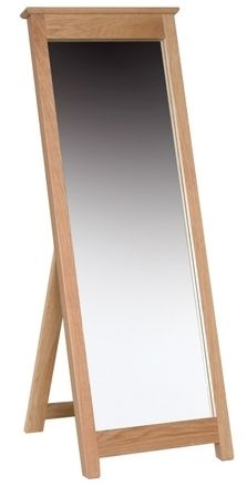 Devonshire New Oak Cheval Mirror