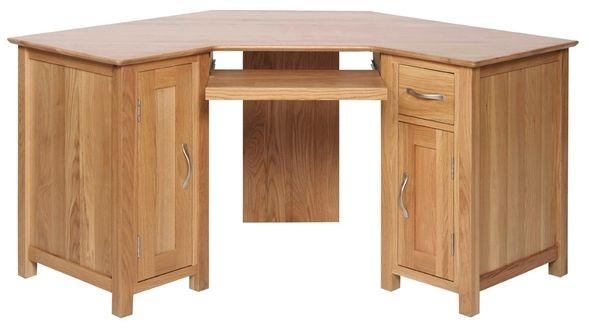 Devonshire New Oak Desk - Corner