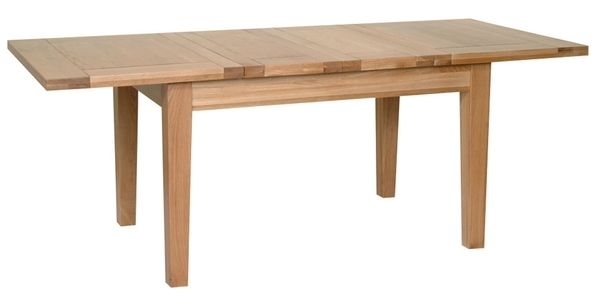 Devonshire New Oak Dining Table - Medium Extending