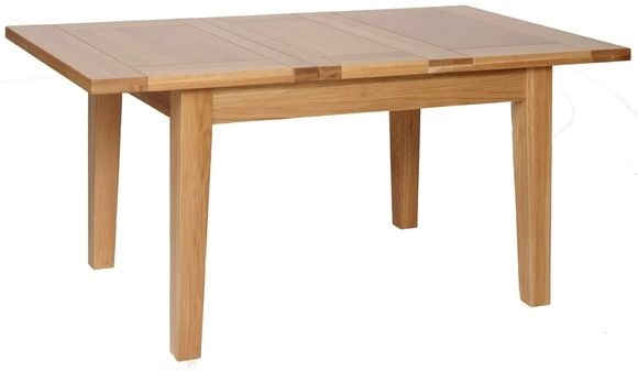 Devonshire New Oak Dining Table - Small Extending
