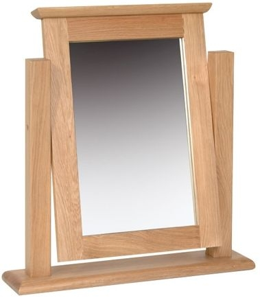 New Oak Dressing Table Mirror