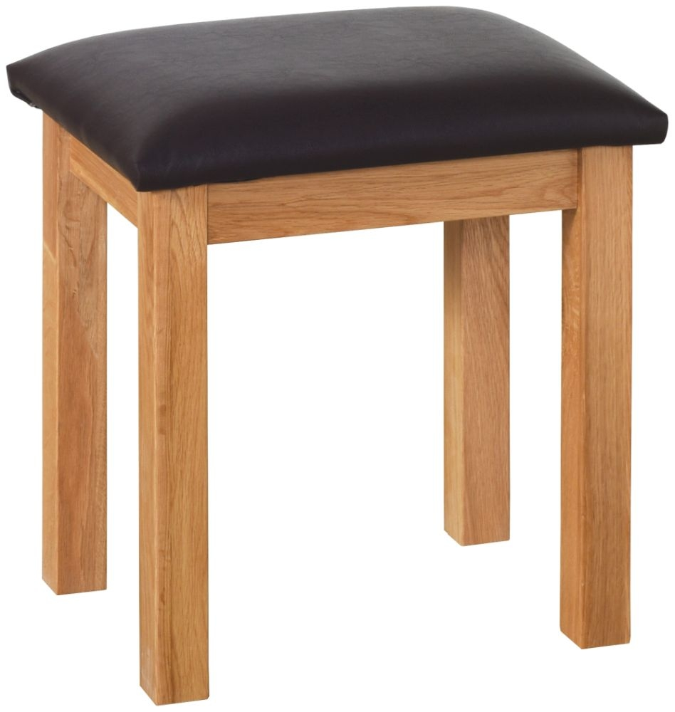 Devonshire New Oak Dressing Table Stool