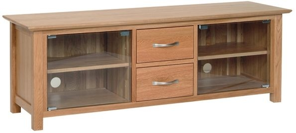 Devonshire New Oak TV Cabinet - Large