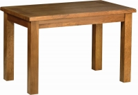 Devonshire Rustic Oak Dining Table