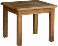 Devonshire Rustic Oak Square Dining Table