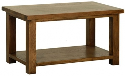 Devonshire Rustic Oak Coffee Table - Large