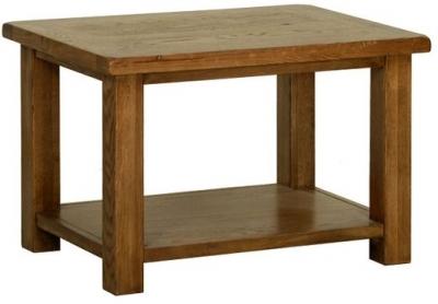 Devonshire Rustic Oak Coffee Table - Medium