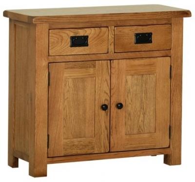 Devonshire Rustic Oak Sideboard - Small