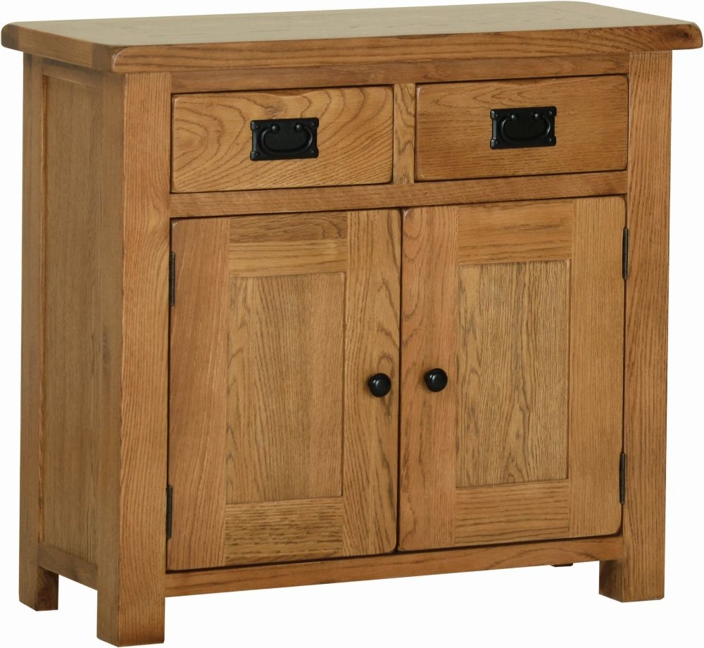 Devonshire Rustic Small Oak Sideboard