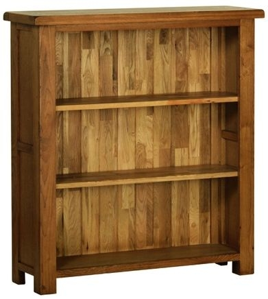 Devonshire Rustic Oak Bookcase - Small