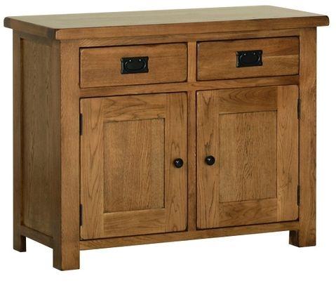 Devonshire Rustic Oak Dresser Base - Small
