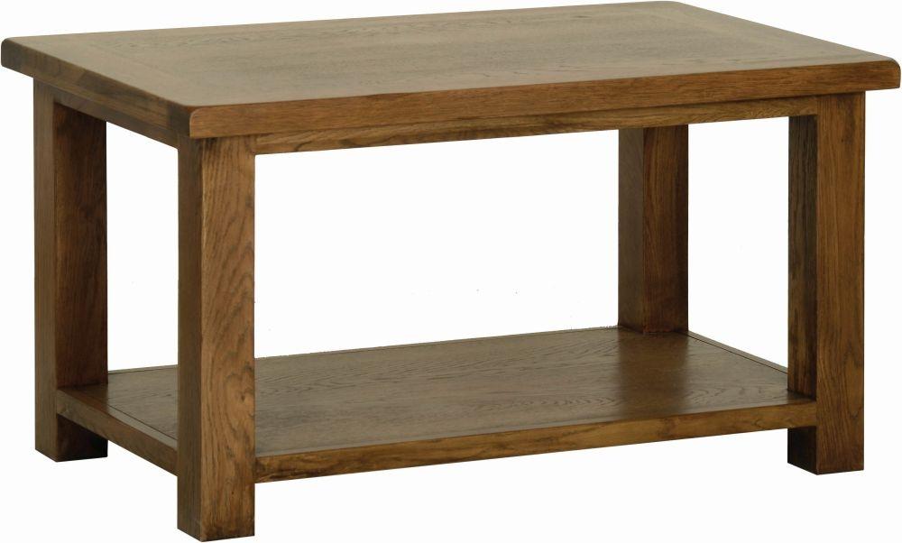 Devonshire Rustic Oak Large Coffee Table