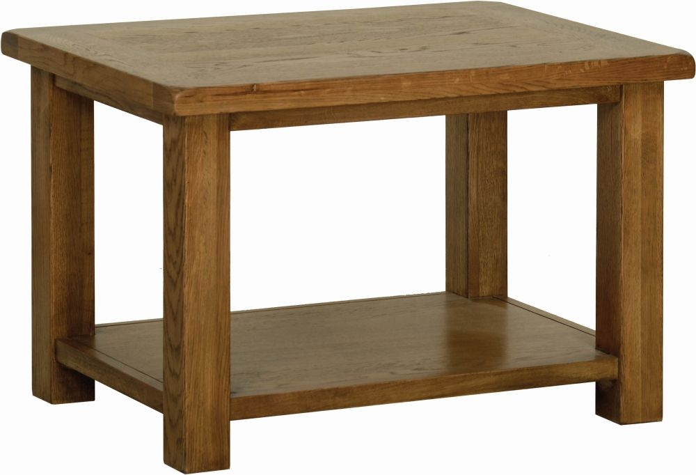 Devonshire Rustic Oak Coffee Table