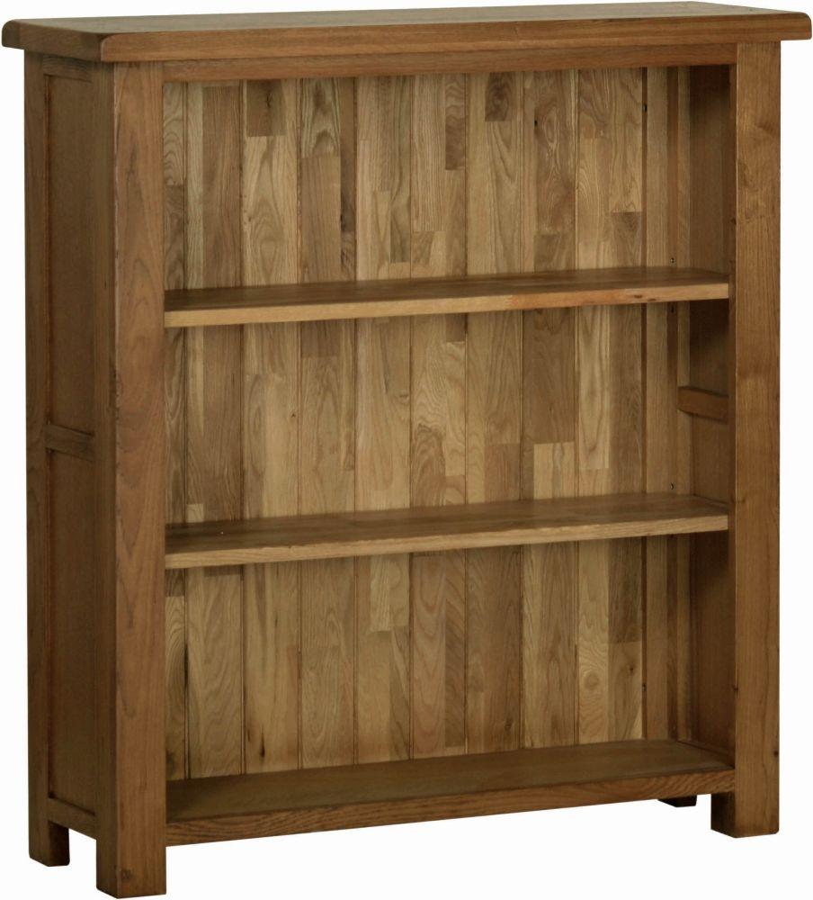Devonshire Rustic Oak Small Bookcase