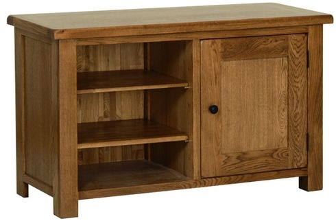 Devonshire Rustic Oak TV Cabinet - Standard