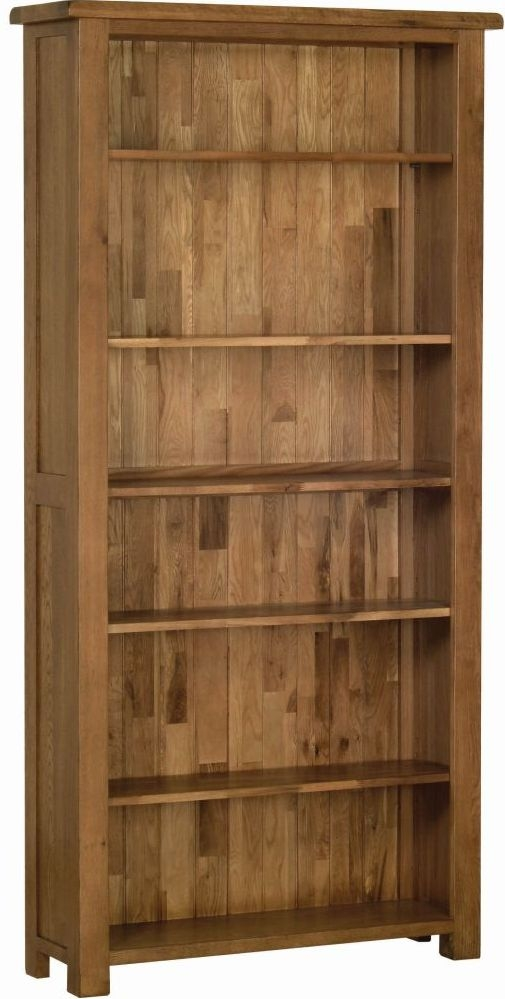 Devonshire Rustic Oak Tall Bookcase