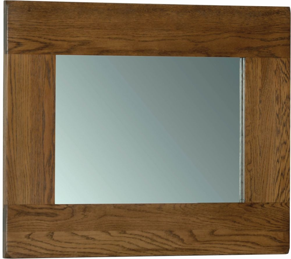 Devonshire Rustic Oak Wall Mirror