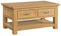 Devonshire Siena Oak Storage Coffee Table
