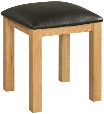 Devonshire Siena Oak Dressing Table Stool
