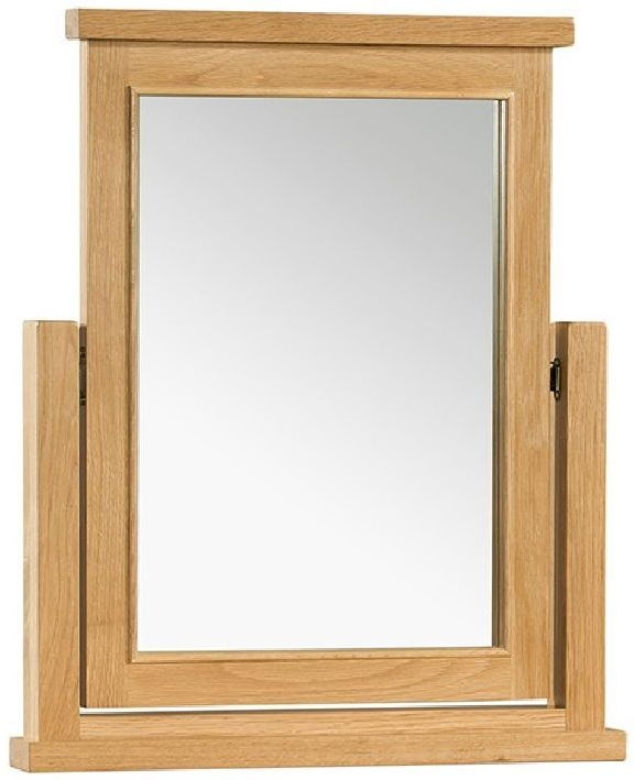 Devonshire Siena Oak Dressing Table Mirror