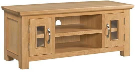 Devonshire Siena Oak 2 Door Large TV Unit