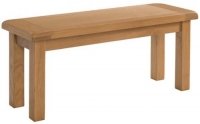 Devonshire Somerset Oak Dining Bench