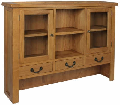 Somerset Oak Large Dresser Top