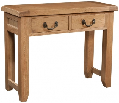 Somerset Oak Large Console Table