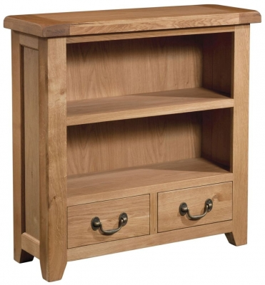 Somerset Oak Low Bookcase