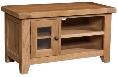 Devonshire Somerset Oak TV Unit - Small