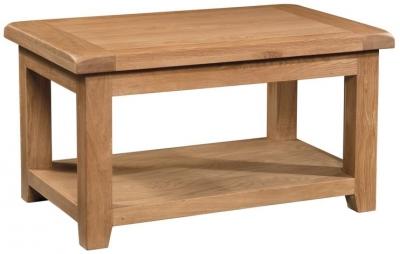 Devonshire Somerset Oak Coffee Table - Standard