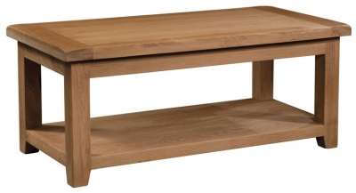 Somerset Oak Large Coffee Table