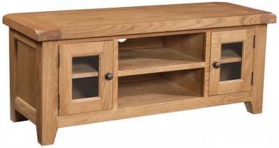 Devonshire Somerset Oak TV Unit - Large