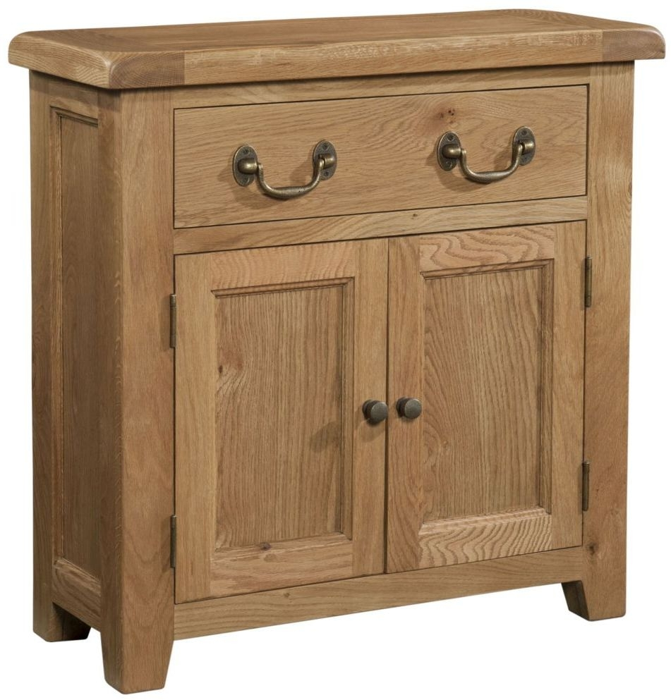 Devonshire Somerset Oak Narrow Sideboard