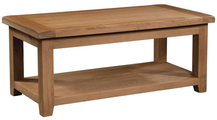 Devonshire Somerset Oak Coffee Table - Large