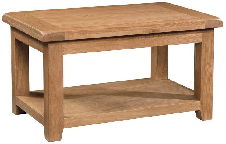 Devonshire Somerset Oak Standard Coffee Table