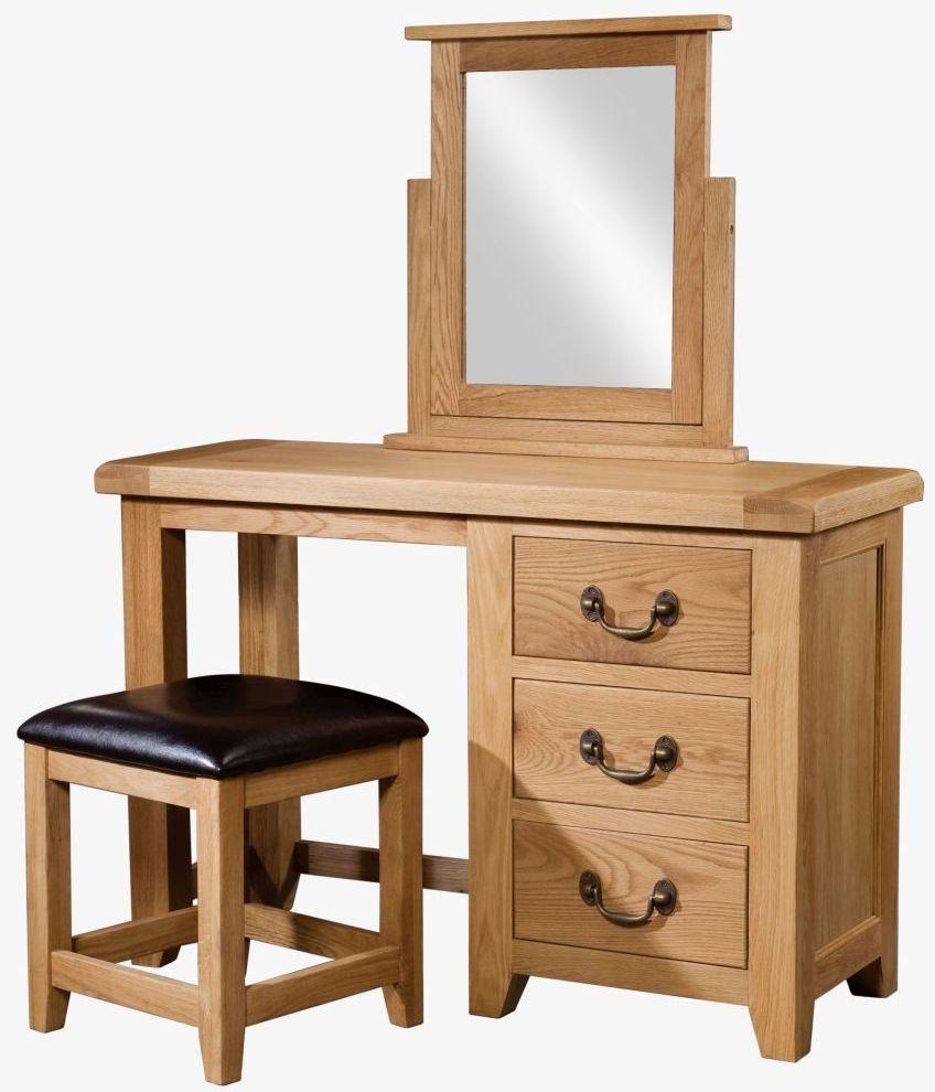 Devonshire Somerset Oak Dressing Set
