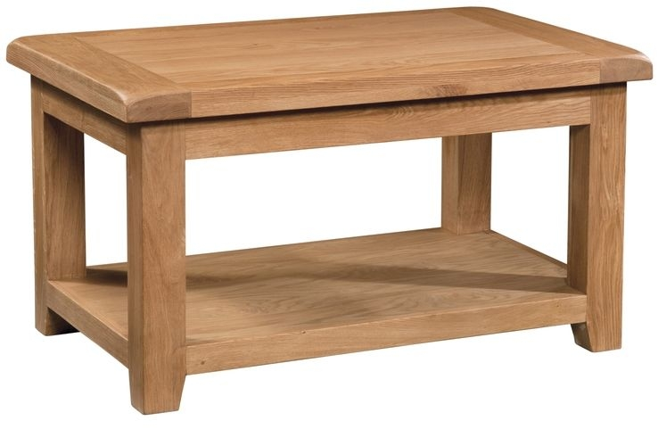 Devonshire Somerset Oak Coffee Table