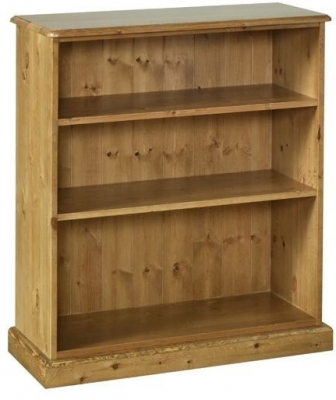 Devonshire Torridge Pine Bookcase - 3ft with 12in Deep Shelves
