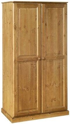Devonshire Torridge Pine Double Wardrobe - 2 Door
