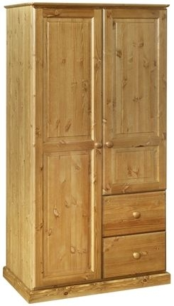 Devonshire Torridge Pine Combination Wardrobe
