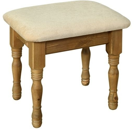 Devonshire Torridge Pine Dressing Table Stool